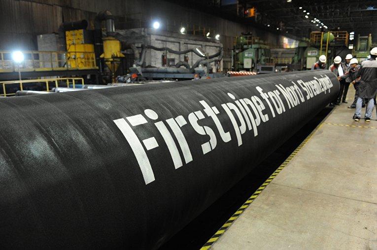 Отгрузка первых труб на заводе OMK в Выксе, Россия