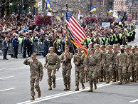 Парад в честь Дня независимости в Киеве