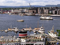 Панорама норвежского города Осло