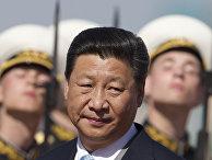 Председатель КНР Си Цзиньпин в аэропорту Внуково накануне парада Победы в Москве