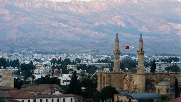 Часть Никосии, которая является территорией частично признанного государства Турецкая республика Северного Кипра