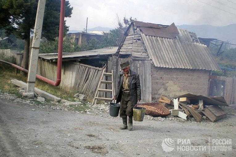 деревня старик