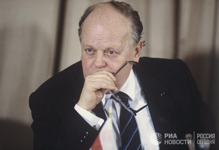 Станислав Шушкевич, 1991 год