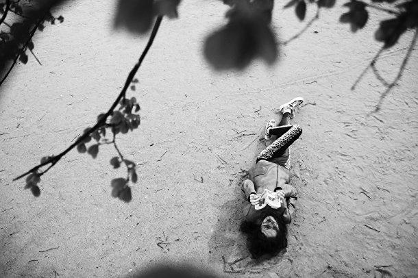 Галя, 17 лет. Работа Марии Гельман с выставки «Будь собой»