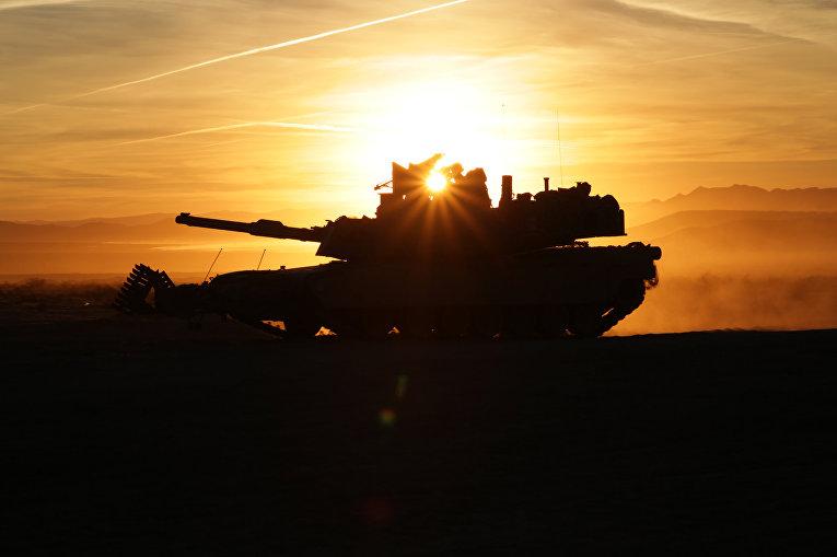 "Американский танк M1A2 ""Абрамс"""