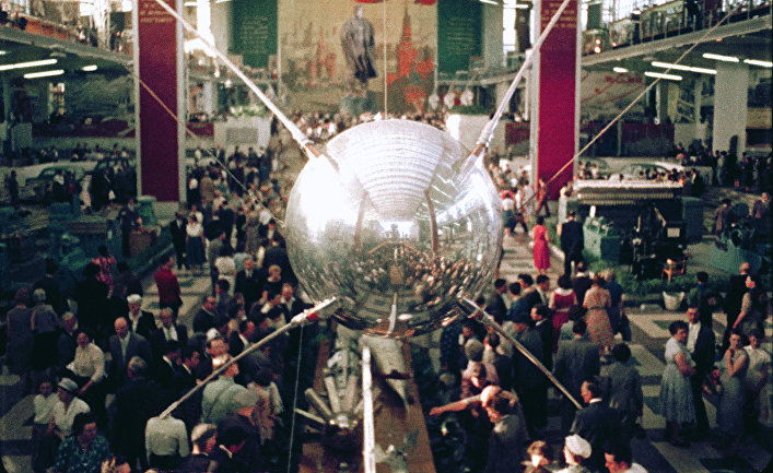 Советский павильон на ЭКСПО-58 в Брюсселе