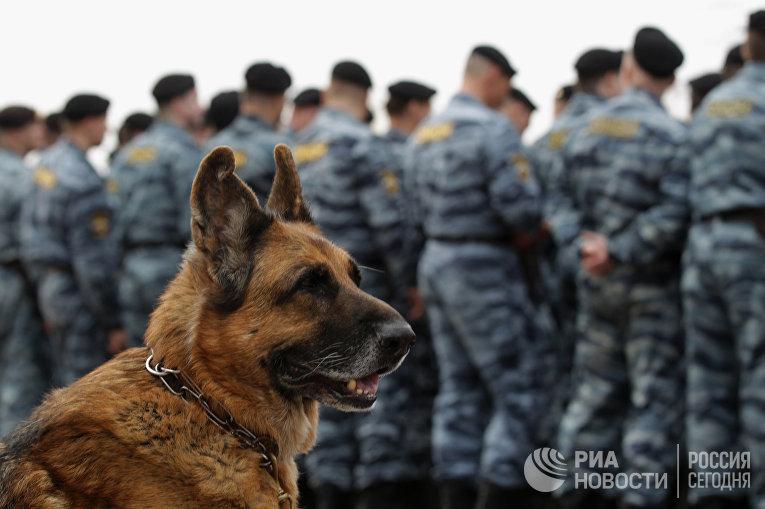 Петербургский ОМОН отмечает 20-летие создания подразделения