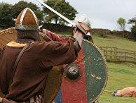 Реконструкция сражения викингов