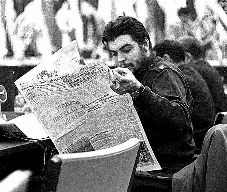 Че Гевара в Аргентине в августе 1961 года