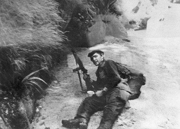 Эрнесто Че Гевара в Боливии в 1967 году