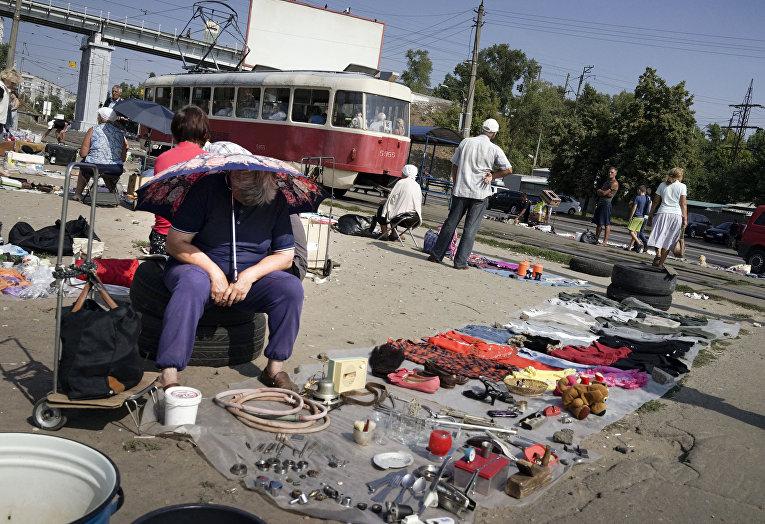 Блошиный рынок в Киеве