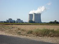 Атомная электростанция Сен-Лоран во Франции