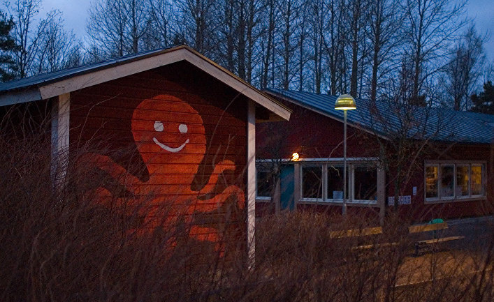 Детский сад в Стокгольме, Швеция