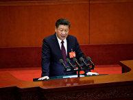 Председатель КНР Си Цзиньпин на открытии 19-го съезда Коммунистической партии Китая