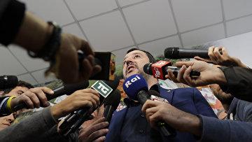 Лидер партии «Лига Севера» Маттео Сальвини