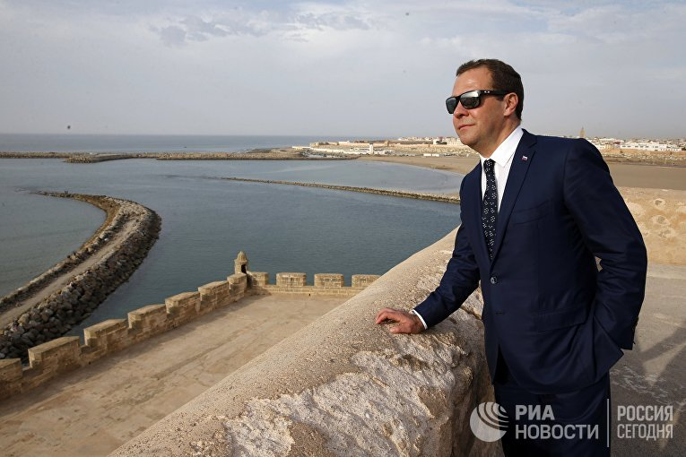 Рабочий визит премьер-министра РФ Д. Медведев в Марокко