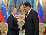 Владимир Путин и Николас Мадуро Морос в Кремле