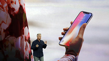 Презентация iPhone X в театре Стива Джобса в новом кампусе Apple