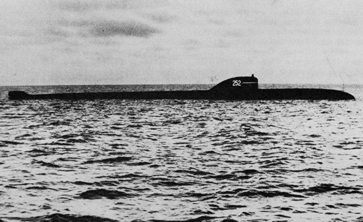 Атомная подводная лодка проекта 627А К-5