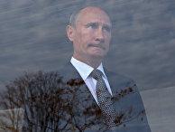 """Премьер-министр РФ В.Путин на церемонии запуска магистрального газопровода """"Сахалин – Хабаровск – Владивосток"""""""