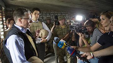 Спецпредставитель США на Украине Курт Волкер