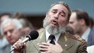 Выступление Первого секретаря ЦК Компартии Кубы, Председателя Государственного совета и Совета Министров Республики Куба Фиделя Кастро Рус. 15 апреля 1989 года