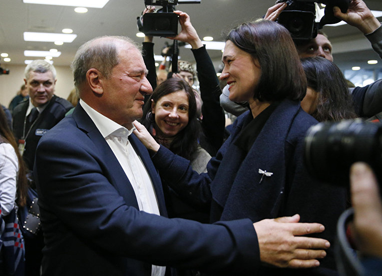Заместитель председателя Меджлиса крымскотатарского народа Ильми Умеров в Киеве