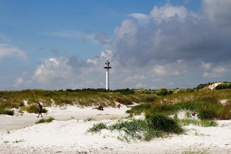 Маяк на острове Борнхольм, Дания
