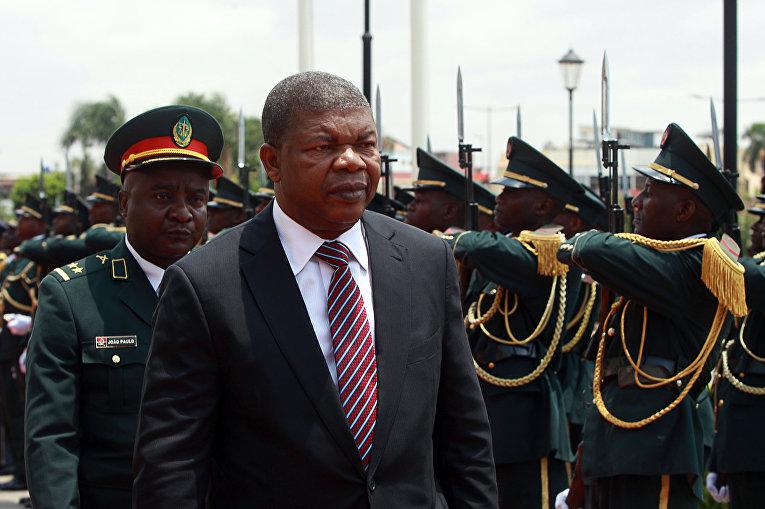 Президент Анголы Жуан Лоренсу в Луанде