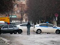 Военнослужащие Луганской народной республики в Луганске