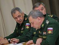 Президент РФ В. Путин провел совещание по вопросам обеспечения технического переоснащения Вооруженных сил