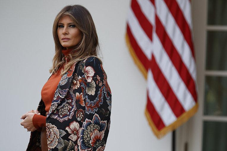Жена президента США Меланья Трамп