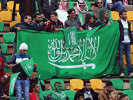 Болельщики сборной Саудовской Аравии по футболу