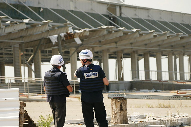 Последствия обстрела Донецкой фильтровальной станции