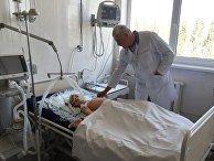 Семилетний мальчик, пострадавший при обстреле севера Горловки Донецкой области, в реанимации городской больницы