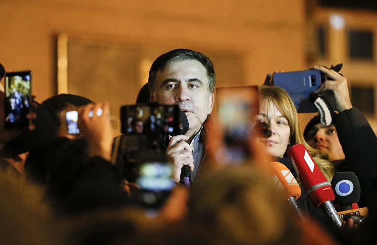 Экс-президент Грузии, бывший губернатор Одесской области Михаил Саакашвили