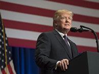 Президент США Дональд Трамп в Вашингтоне. 18 декабря 2017