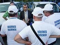 Сотрудники миссии ОБСЕ прибыли в Ростов-на-Дону