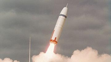 Первый запуск ракеты «Трайдент» на мысе Канаверал