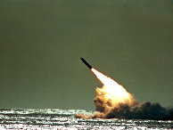 ВМС США запускают ракету «Трайдент»