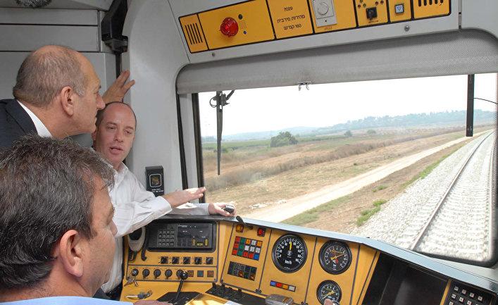 Открытие новой железнодорожной линии, связывающей Тель-Авив и Модиин в Израиле