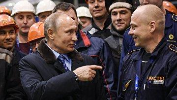 Рабочая поездка президента РФ В. Путина в Тверскую область