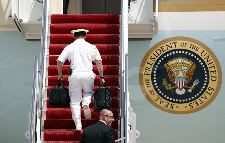 """""""Ядерный чемоданчик"""" президента США Дональда Трампа"""