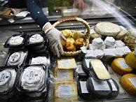 Фестиваль сыра на Манежной площади