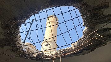 Поселение Дженджерес в кантоне Африн на севере Сирии после авиационного и артиллерийского обстрела со стороны Вооруженных сил Турции