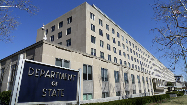 Здание Госдепартамента США в Вашингтоне