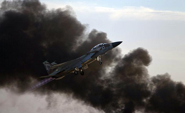Истребитель ВВС Израиля