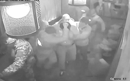 Как задержали Саакашвили в Киеве