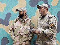Военные учения в Южной Осетии