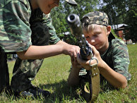 Учебные стрельбы из автомата АК-74